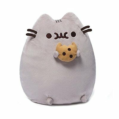 Gund Pusheen The Cat Kitty Plush with Cookie Unisex Gift For Children 9.5 Inch
