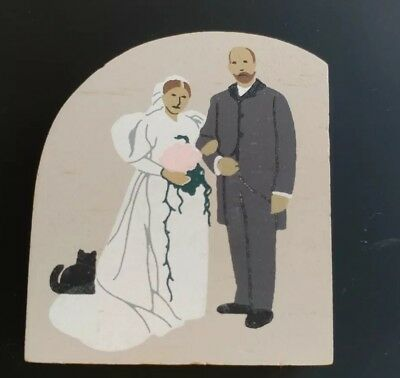 Cats Meow Village WEDDING Wood Accessory Retired 1993 203