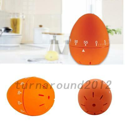 Portable Egg Kitchen Cooking Countdown Mechanical Alarm Stainless Steel