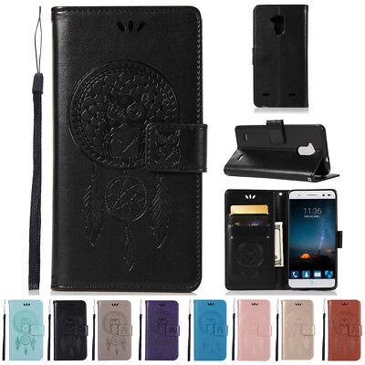 Flip Magnetic Card PU Leather Wallet Case Cover For ZTE Blade V7 Llte / V6 Plus