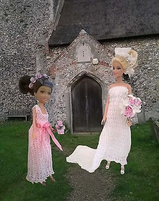 Barbie knitting  patterns - 15 Bridal and Lingerie patterns
