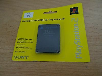 Official Sony Playstation 2 Ps2 16Mb Magic Gate Memory Card