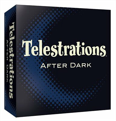 USAOPOLY Telestrations After Dark Board Game Standard Packaging