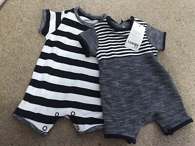 Next Baby Boy Vests 0-3 Months New With Tags