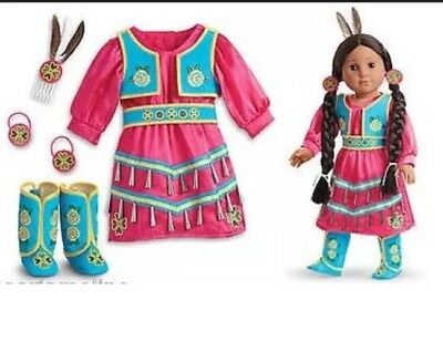 American Girl KAYA JINGLE DRESS OF TODAY Outfitl Drum NIB Special Edition