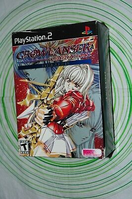 GROWLANSER GENERATION DELUXE EDITION brand new Ps2 ntsc USA