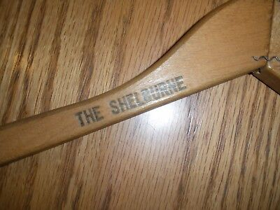 Famous Shelburne Hotel Atlantic City, NJ Vintage wooden hanger  Piece of History
