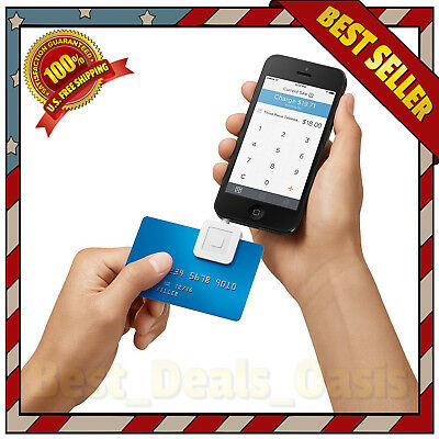 Card Reader iPhone Credit Android & Ipad Apple Debit Mobile Compatible Chip New
