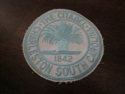 The Citadel The Military College of SC 3 7/8 inch Patch