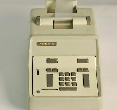 Vintage ADDO-X Salesman Sample Adding Machine / calculator -  large.