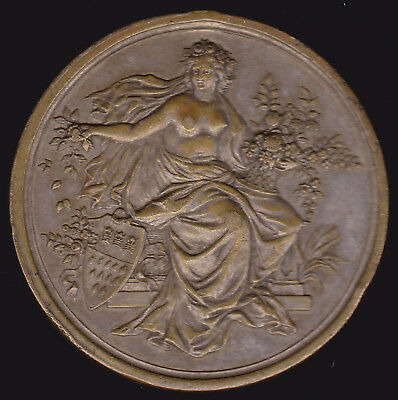 Germany, Cologne 1888 International Horticultural Exhibition silvered Bronze Med