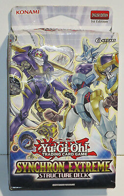 Yu-Gi-Oh! Synchron Extreme Structure Deck Card Game ENGLISCH