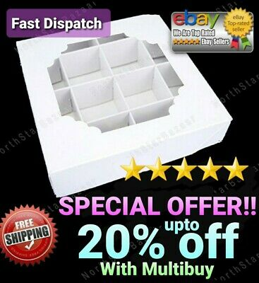 *SALE* Empty Pick And Mix Sweet Boxes Christmas Packaging acetate window display
