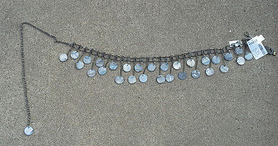 Renaissance Belly Dancing Belt with Natural Stones One Size