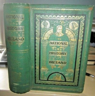 (1896) The National History of Ireland book, Ancient and Modern. Antique.
