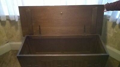 Antique Old Charm Blanket Box / Chest