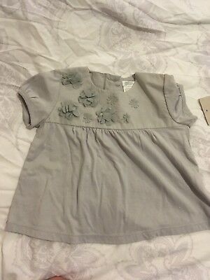 Brand New With Tags Blouse Girls Mamas And Papas Girls 6-9