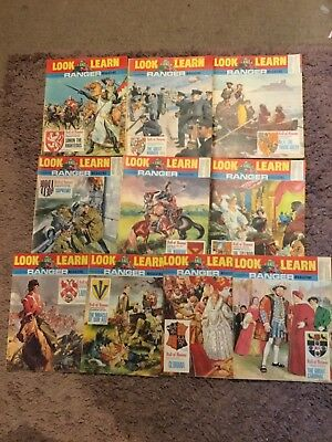 10 Look And Learn Magazines 371 - 380 1969 22nd Feb To 26th Apr Vintage Mags