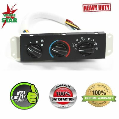 HVAC AC AC Heater Control with Blower Motor Switch for Jeep