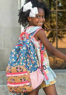 NEW Matilda Jane Backpack Scholarly Me Make Believe Back to school  Perfect gift