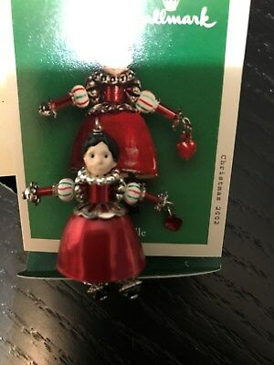 Hallmark 2002 Jingle Belle Miniature Ornament NEW  in Box