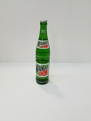 Vintage  Mountain Dew bottle with cap unopened 16oz.
