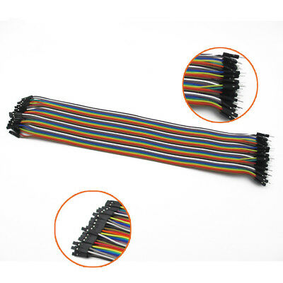 1×40PCS Dupont wire jumpercables 20cm 2.54MM male to female 1P-1P For Arduino