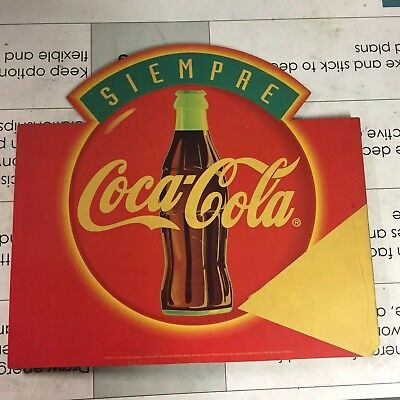 Vintage Rare Coca Cola Carton Sign