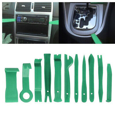 11pcs Car Body Auto Door Panel Console Dashboard Trim Removal Plastic Tool Set