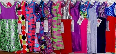 Child Large New Pelle CL Leotard Gymnastics Unitard Girls Biketard Dance Teens