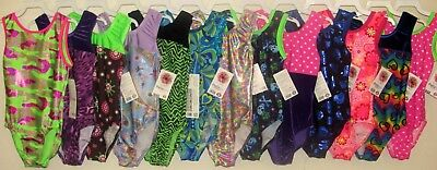 Child Medium New Pelle CM Leotard Gymnastics *Choices* Girls Dance * SALE*
