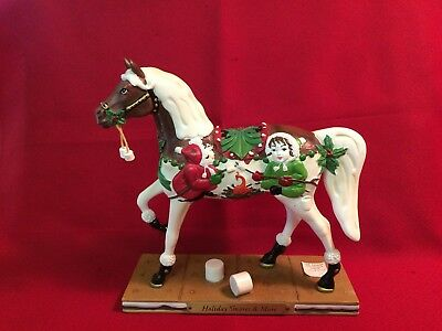 Enesco Trail Of Painted Ponies Holiday Smores And More Nib Horse