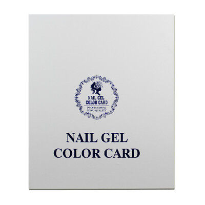 120 Tips Professional Gel Polish Display Book Chart for Nail Art Design Manicure