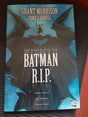 Batman R.I.P. THE DELUXE EDITION (HARDCOVER)