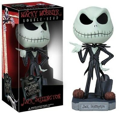 The Nightmare Before Christmas Jack Skellington PVC Doll Toy New Year Gift