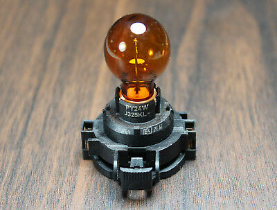 Genuine PHILIPS PY24W PGU20-4 12190 lamp Amber Bulb PGU20-4 turn singal light