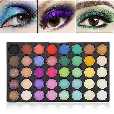 120colors Eye Shadow Cosmetic Makeup Shimmer Matte Eyeshadow Palette Set Kit YU9