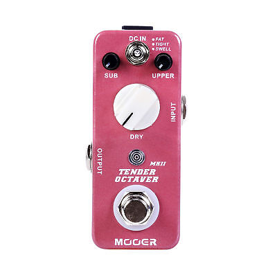 Mooer Tender Octaver MKII Precise Octave Guitar Effect Pedal 3 Tones Switch