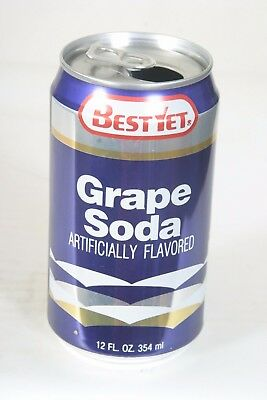 Best Yet Grape Soda Can - 12oz