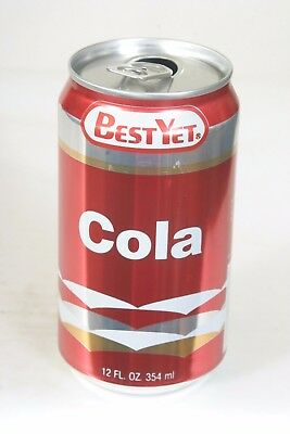 Best Yet Cola Soda Can - 12oz