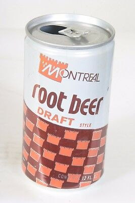 Montreal Root Beer Soda Can - 12oz  EMPTY