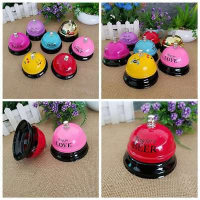 Colors Hotel Service Metal Bell Call Ringer Restaurant Desk Kitchen Reception
