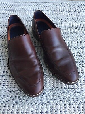 Cole Haan Men's Dress or Casual Brown Leather Loafer Shoes 8.5 M
