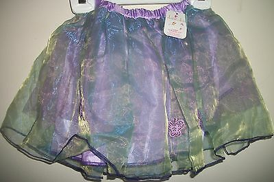 New Claires Shimmery Green / Purple  Tutu