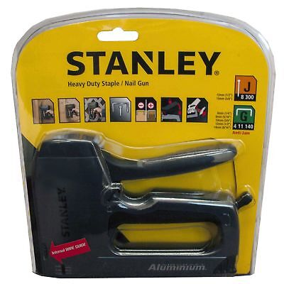 Stanley 0-TR250 Heavy-Duty Hand Staple and Nail Gun Stapler Brad Nailer Tacker