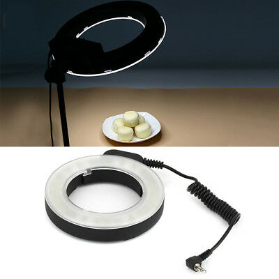 Professional 48LED Ring Photo Lighting Dimmable Photography Ring Light Healthy