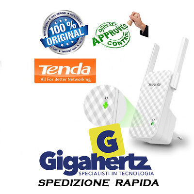 TENDA A9 Extender / 300Mbps WiFi Repeater + Access Point - 2 antenne GLS 24/48h