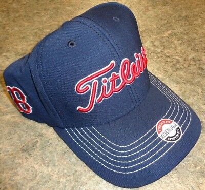 NEW TITLEIST GOLF MLB BOSTON RED SOX Fitted Ball Cap Hat 6aed72fb876