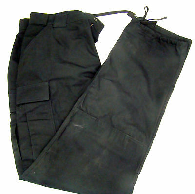 511 5.11 Tactical Series Black Cargo Pants Police Fire Large 35 1/2-39 Long a