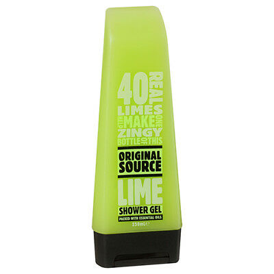 NEW Original Source Shower Gel Lime 40 Limes In 1 Bottle Recyclable 250ml